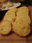 Thyme and Rosemary Edam Crackers