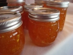 Kumquat Orange Ginger Marmalade ~ I feel like the brown Martha Stewart