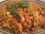 Subzi Paneer Masala  (Vegetable and Paneer in a delicious sauce)