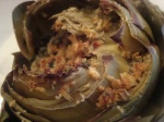 Gorgonzola and Camembert Stuffed Artichokes