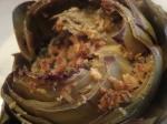 Gorgonzola and Camembert StuffedArtichokes